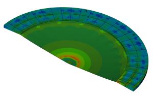 FEM analysis stability floating roof