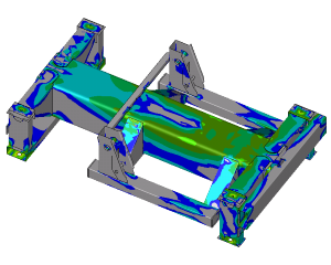 Optimisation spring support using FEA simulations