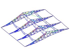Strength analysis roof paddock tent (Finite Element Analysis)