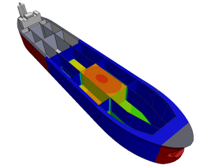 CFD analysis cooling oil in FPSO