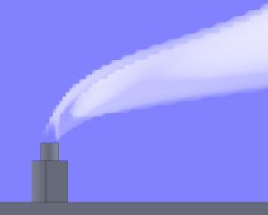 CFD-analyse condensatie in uitlaatgas-pluim