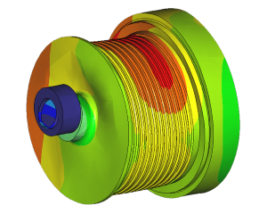 Finite element analysis winch drum
