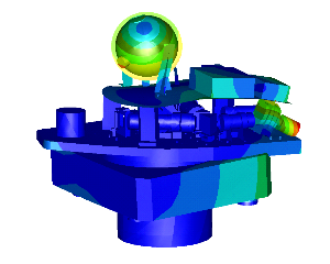 Research dynamic behaviour IR-camera (Modal and Random FEM analysis)