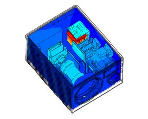 CFD-berekening koeling camera