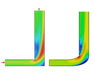 Flow optimisation air duct using Computational Fluid Dynamics
