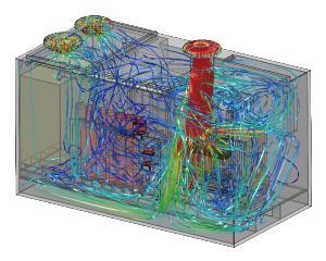 CFD-analyse stroming en koeling generator-unit