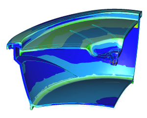 Analysing strength and stiffness marinator using FEA