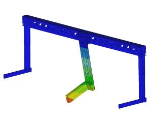 Dynamische FEM-analyse palletiseermachine