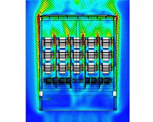 Onderzoek luchtstroming en koeling transformatorkast met CFD