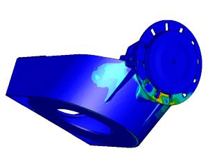 Sterkteberekening rotorblokkering