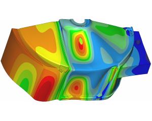 Analyse thermische vervorming wrongeltank met FEM
