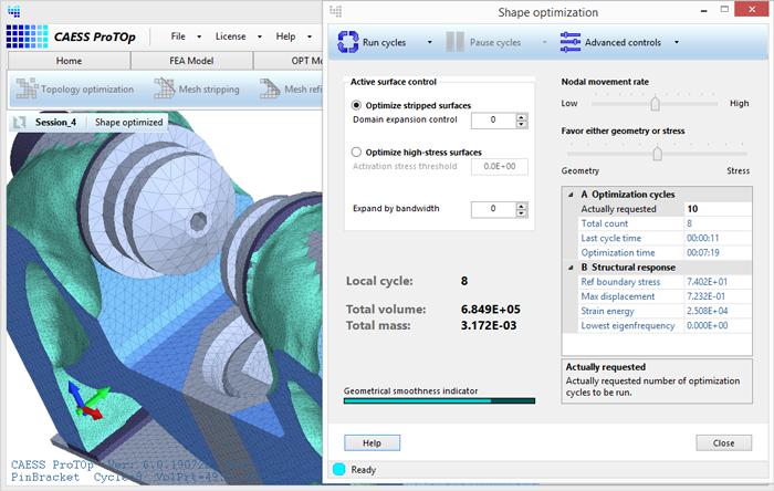 Nieuwe versie ProTOp - Shape optimizer